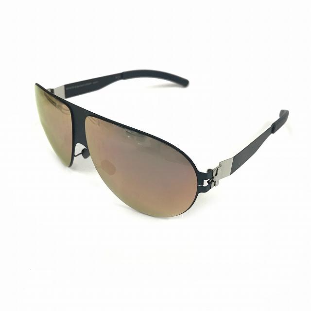 マイキータ MYKITA ベルンハルトウィルヘルム bernhard willhelm WASTL サングラス 眼鏡 ネイビー 紺 F65-NAVYBLUE ROSEGOLD FLASH メンズ 【中古】【ベクトル 古着】 180729 VECTOR×Refine