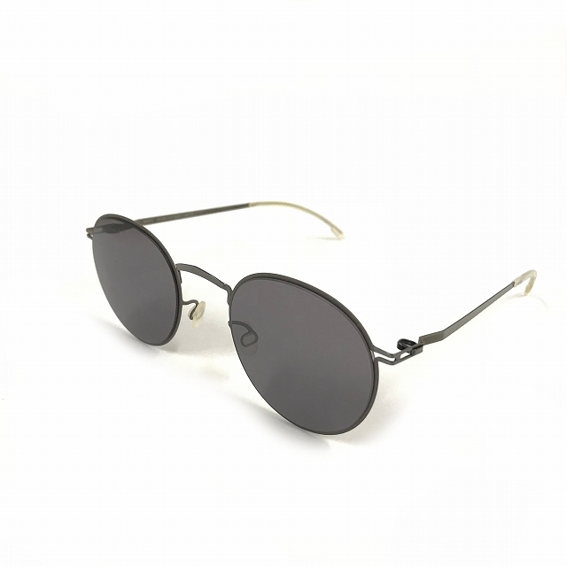マイキータ MYKITA DECADES SUN GIANNI サングラス 眼鏡 グレー SHINYGRAPHITE/MOLEGREY DARKPURPLE FLASH col.235 メンズ 【中古】【ベクトル 古着】 180803 VECTOR×Refine