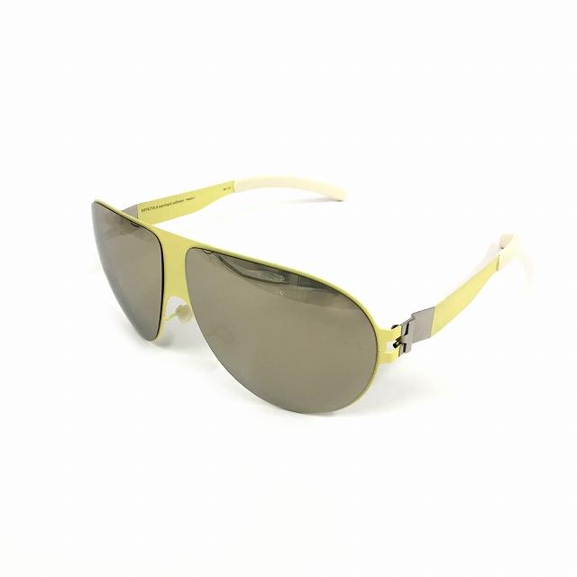 マイキータ MYKITA ベルンハルトウィルヘルム bernhard willhelm WASTL サングラス 眼鏡 ライトイエロー F63-SULFUR SUPERIVORY FLASH col.F63 メンズ 【中古】【ベクトル 古着】 180803 VECTOR×Refine