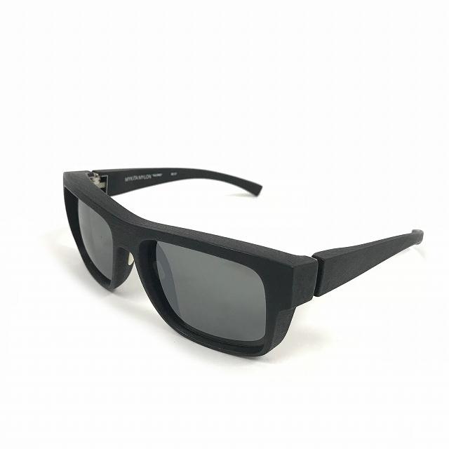 マイキータ MYKITA MYLONSUN CALYPSO サングラス 眼鏡 MD1-PITCHBLACK COAL FLASH col.301 メンズ 【中古】【ベクトル 古着】 180804 VECTOR×Refine