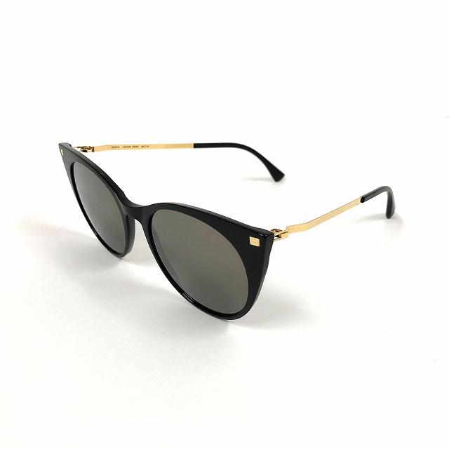 マイキータ MYKITA LITEACETATESUN DESNA サングラス 眼鏡 C6-BLACK/GLOSSYGOLD BRILLIANTGREY SOLID col.919 メンズ 【中古】【ベクトル 古着】 180804 VECTOR×Refine