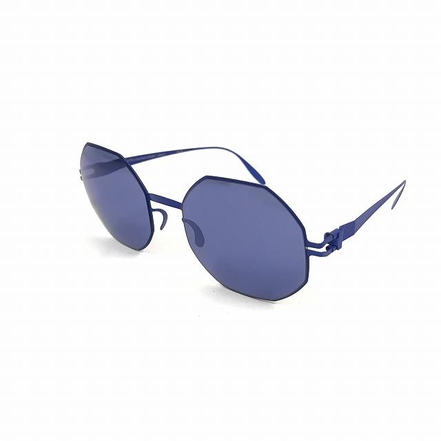 マイキータ MYKITA ベルンハルトウィルヘルム bernhard willhelm URSULA サングラス 眼鏡 F48-INTERNATIONALBLUE BLUE METALLIC メンズ 【中古】【ベクトル 古着】 180804 VECTOR×Refine