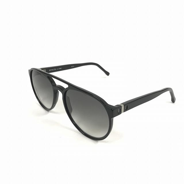 【中古】マイキータ MYKITA 2SUN CYRIL サングラス 眼鏡 ブラック BLACK BLACK GRADIENT col.001 メンズ 【ベクトル 古着】 180804 VECTOR×Refine