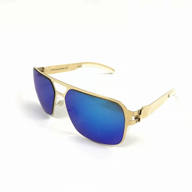 マイキータ MYKITA ベルンハルトウィルヘルム bernhard willhelm HEINZ サングラス 眼鏡 F9-GOLD AZURE FLASH メンズ 【中古】【ベクトル 古着】 180804 VECTOR×Refine