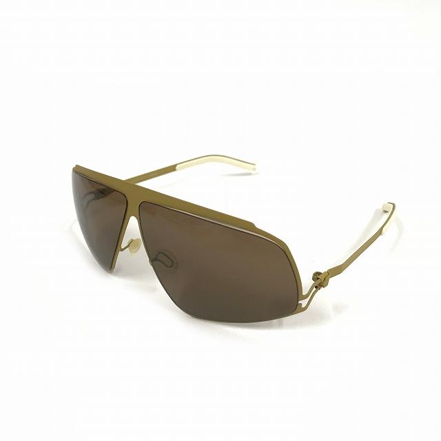 マイキータ MYKITA ベルンハルトウィルヘルム bernhard willhelm LUCIDUS サングラス 眼鏡 F24-MUSTARD SOLID メンズ 【中古】【ベクトル 古着】 180804 VECTOR×Refine