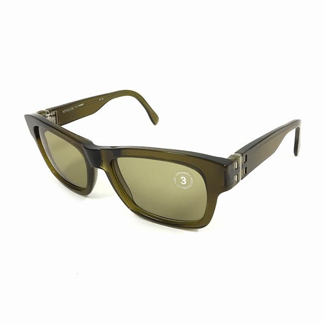 マイキータ MYKITA 2SUN HERBIE サングラス 眼鏡 カーキ PERIDOT SOLID col.904 メンズ 【中古】【ベクトル 古着】 180804 VECTOR×Refine