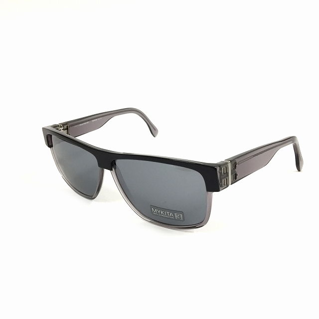 マイキータ MYKITA 2SUN DUNCAN サングラス 眼鏡 ブラック 黒 BLACK/SMOKE SOLID col.503 メンズ 【中古】【ベクトル 古着】 180804 VECTOR×Refine
