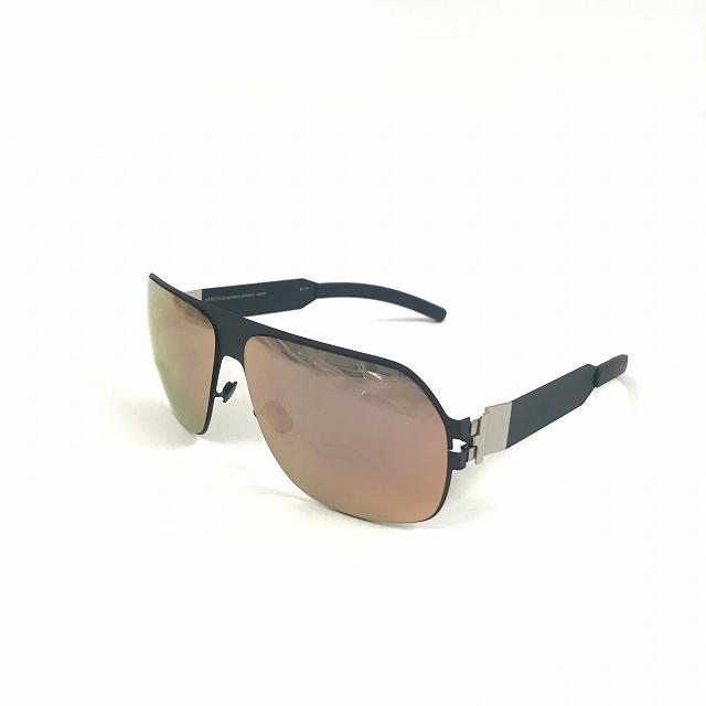 マイキータ MYKITA ベルンハルトウィルヘルム bernhard willhelm XAVER サングラス 眼鏡 ネイビー F65-NAVYBLUE ROSEGOLD FLASH col.F65 メンズ 【中古】【ベクトル 古着】 180804 VECTOR×Refine