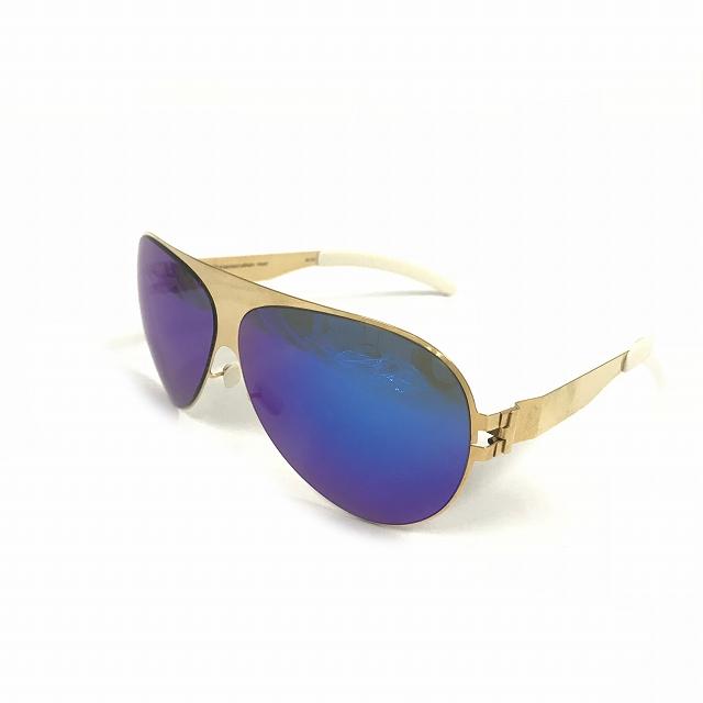 マイキータ MYKITA ベルンハルトウィルヘルム bernhard willhelm FRANZ サングラス 眼鏡 ゴールド 金 F9-GOLD AZURE FLASH メンズ 【中古】【ベクトル 古着】 180805 VECTOR×Refine