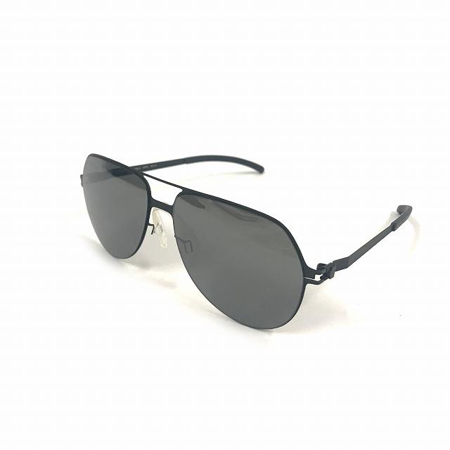 マイキータ MYKITA ベルンハルトウィルヘルム bernhard willhelm BEPPO サングラス 眼鏡 ブラック F25-MATTBLACK MIRROR BLACK メンズ 【中古】【ベクトル 古着】 180805 VECTOR×Refine