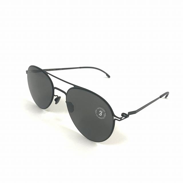 マイキータ MYKITA LITESUN JOLAN サングラス 眼鏡 ブラック 黒 BLACK DARKGREY SOLID col.002 メンズ 【中古】【ベクトル 古着】 180805 VECTOR×Refine