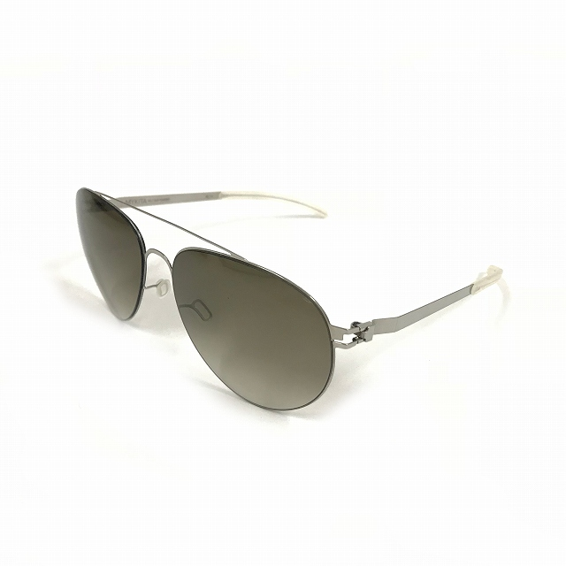 マイキータ MYKITA 1SUN CARTER サングラス 眼鏡 シルバー SHINYSILVER OLIVE GRADIENT col.051 メンズ 【中古】【ベクトル 古着】 180805 VECTOR×Refine