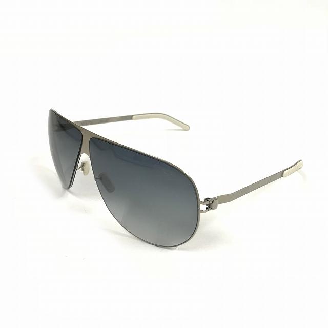 マイキータ MYKITA 1SUN ELLIOT サングラス 眼鏡 シルバー PEARL BLACK/GREEN GRADIENT メンズ 【中古】【ベクトル 古着】 180805 VECTOR×Refine