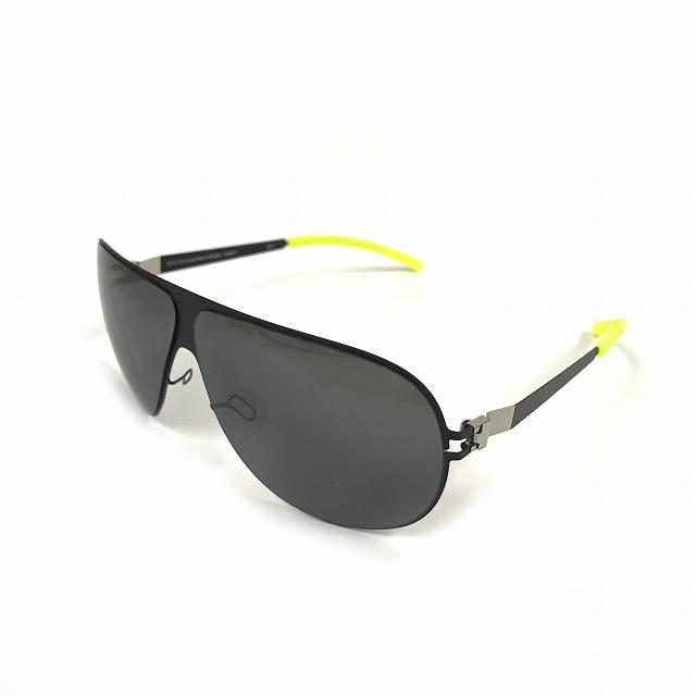 マイキータ MYKITA ベルンハルトウィルヘルム bernhard willhelm HUBERT サングラス 眼鏡 ブラック 黒 F25-MATTBLACK GREY FLASH メンズ 【中古】【ベクトル 古着】 180805 VECTOR×Refine