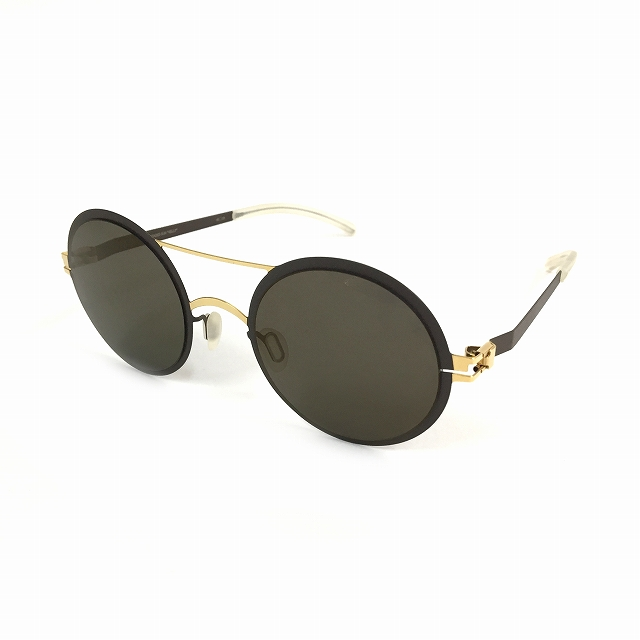 マイキータ MYKITA DECADES SUN KELLY サングラス 眼鏡 GOLD/TERRA BRILLIANTGREY SOLID col.172 メンズ 【中古】【ベクトル 古着】 180805 VECTOR×Refine