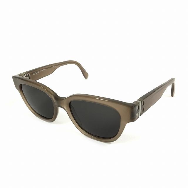 マイキータ MYKITA NO.2 MAFALDA サングラス 眼鏡 ライトブラウン TAUPE BLACK SOLID col.701 メンズ 【中古】【ベクトル 古着】 180806 VECTOR×Refine