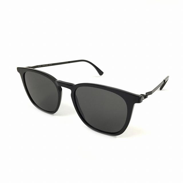 マイキータ MYKITA LITE SUN ESKA サングラス 眼鏡 ブラック C2-BLACK/BLACK DARKGREY SOLID col.915 メンズ 【中古】【ベクトル 古着】 180806 VECTOR×Refine