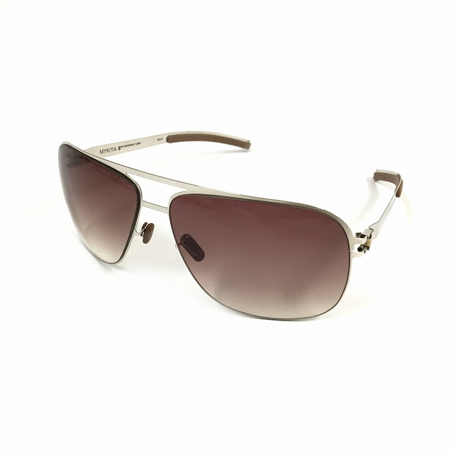 マイキータ MYKITA 1SUN LUKE サングラス 眼鏡 シルバー PLATINUM GRADIENT col.017 メンズ 【中古】【ベクトル 古着】 180807 VECTOR×Refine