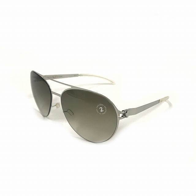 マイキータ MYKITA NO.1 SUN SAMSON サングラス 眼鏡 SHINYSILVER OLIVE GRADIENT col.051 60□15 メンズ 【中古】【ベクトル 古着】 180807 VECTOR×Refine