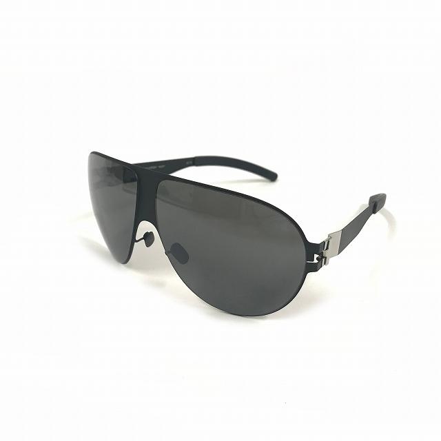 マイキータ MYKITA ベルンハルトウィルヘルム bernhard willhelm WASTL サングラス 眼鏡 F25-MATTBLACK GREY FLASH col.F25 63□10 メンズ 【中古】【ベクトル 古着】 180807 VECTOR×Refine