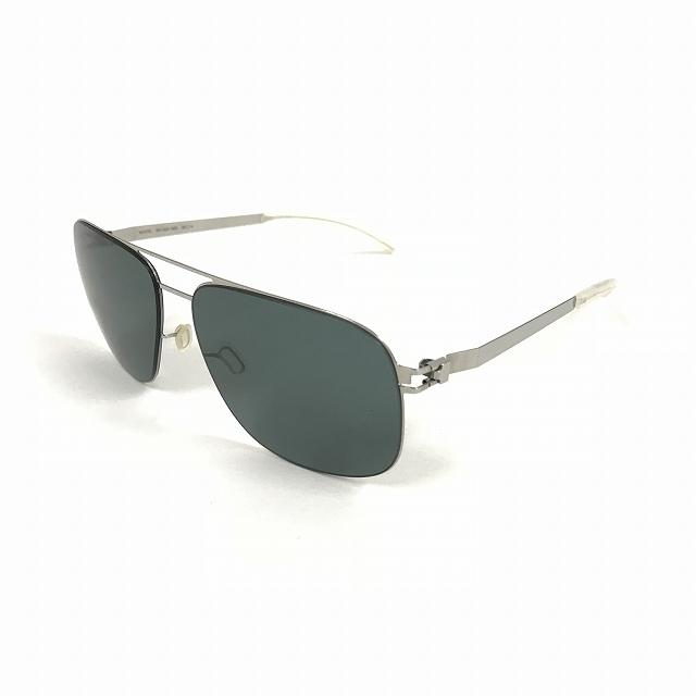 マイキータ MYKITA 1SUN WES サングラス 眼鏡 SHINYSILVER NEOPHAN POLARIZED col.051 58□14 メンズ 【中古】【ベクトル 古着】 180807 VECTOR×Refine