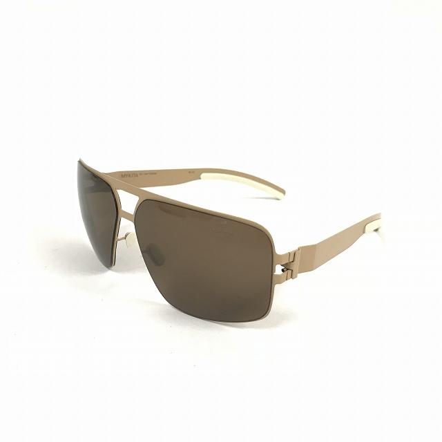 マイキータ MYKITA 1SUN TYRONE サングラス 眼鏡 NUDE SOLID col.094 メンズ 【中古】【ベクトル 古着】 180811 VECTOR×Refine