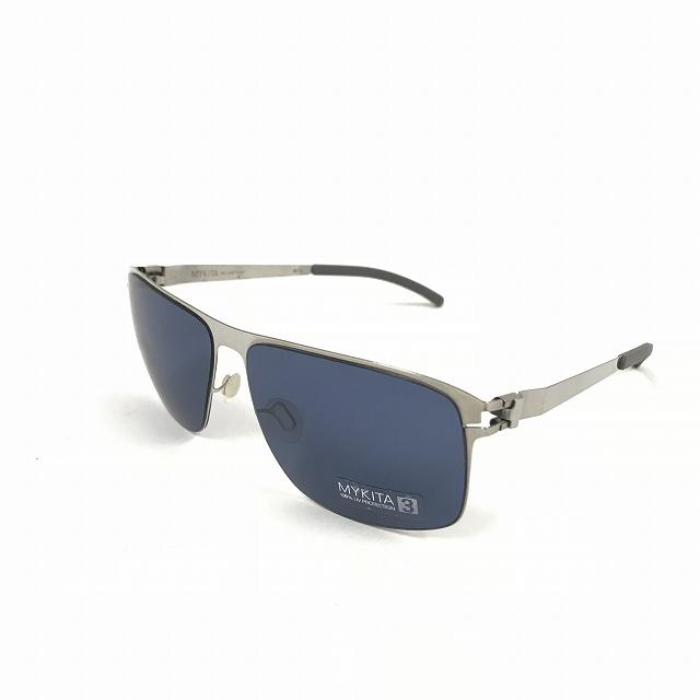 マイキータ MYKITA NO.1 SUN FLINT サングラス 眼鏡 シルバー SHINYSILVER SAPHIREBLUE SOLID col.051 メンズ 【中古】【ベクトル 古着】 180811 VECTOR×Refine