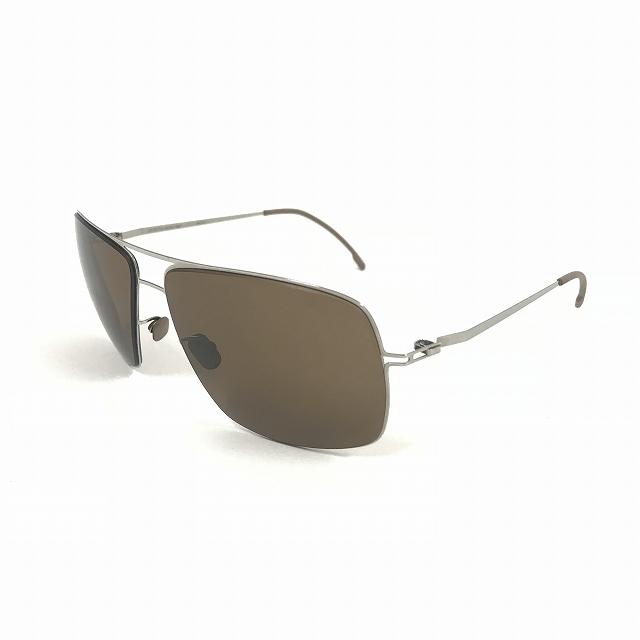 マイキータ MYKITA LITESUN KIMI サングラス 眼鏡 SHINYSILVER BROWN SOLID col.051 メンズ 【中古】【ベクトル 古着】 180811 VECTOR×Refine