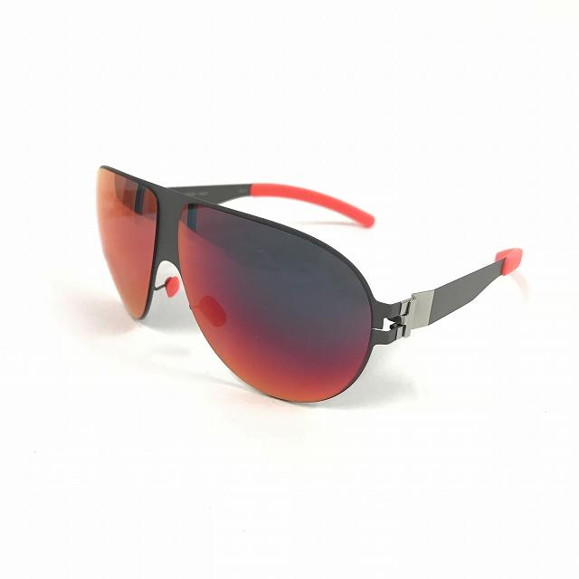 マイキータ MYKITA ベルンハルトウィルヘルム bernhard willhelm WASTL サングラス 眼鏡 F61-BASALT SCARLET FLASH col.F61 メンズ 【中古】【ベクトル 古着】 180811 VECTOR×Refine