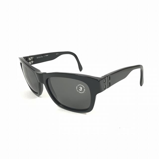 マイキータ MYKITA 2SUN HERBIE サングラス 眼鏡 BLACK BLACK SOLID col.001 メンズ 【中古】【ベクトル 古着】 180811 VECTOR×Refine