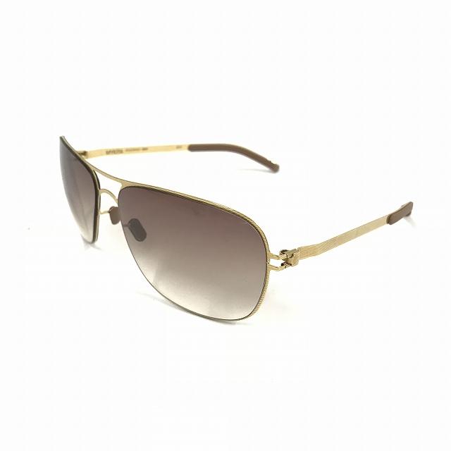 マイキータ MYKITA NO.1 BURT サングラス 眼鏡 ゴールド GOLDLINE GRADIENT col.08 メンズ 【中古】【ベクトル 古着】 180812 VECTOR×Refine