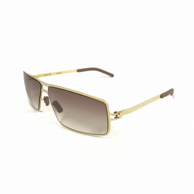 マイキータ MYKITA HUGO サングラス 眼鏡 ゴールド GOLDLINE GRADIENT col.08 メンズ 【中古】【ベクトル 古着】 180812 VECTOR×Refine