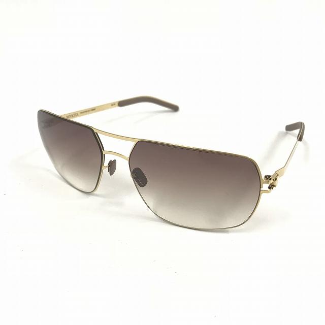 マイキータ MYKITA NO.2 CRAIG サングラス 眼鏡 ゴールド GLOSSYGOLD GRADIENT col.13 メンズ 【中古】【ベクトル 古着】 180812 VECTOR×Refine