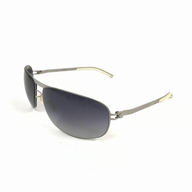 マイキータ MYKITA NO.1 SUN FRED サングラス 眼鏡 メタルフレーム シルバー グラデーション メンズ 【中古】【ベクトル 古着】 180816 VECTOR×Refine