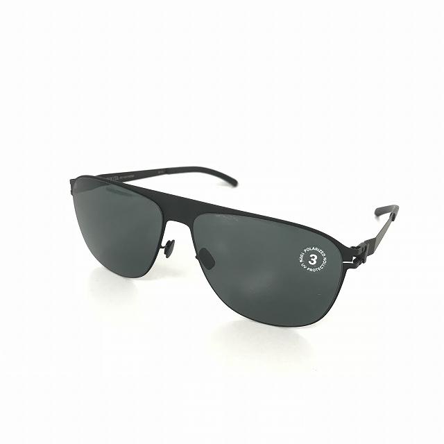 マイキータ MYKITA 1SUN LISTON サングラス 眼鏡 BLACK BLACK POLARIZED col.002 メンズ 【中古】【ベクトル 古着】 180816 VECTOR×Refine