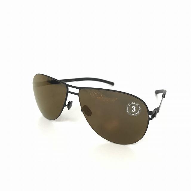 マイキータ MYKITA 1SUN FANNY サングラス 眼鏡 BLACK COPPER FLASH col.002 メンズ 【中古】【ベクトル 古着】 180816 VECTOR×Refine