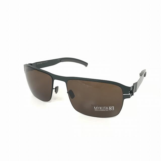 マイキータ MYKITA 1SUN LENNY サングラス 眼鏡 FORESTGREEN SOLID col.155 メンズ 【中古】【ベクトル 古着】 180816 VECTOR×Refine
