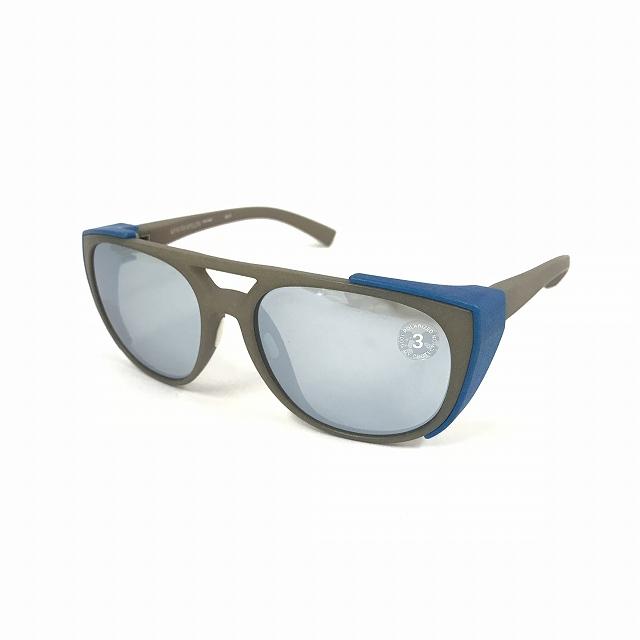 マイキータ MYKITA MYLONSUN SYLVAIN サングラス 眼鏡 MM5-GREY/BLUE POLARIZED col.805 メンズ 【中古】【ベクトル 古着】 180817 VECTOR×Refine