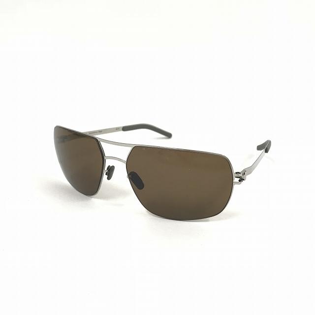 マイキータ MYKITA 1SUN CRAIG サングラス 眼鏡 SHINYSILVER SOLID col.051 メンズ 【中古】【ベクトル 古着】 180817 VECTOR×Refine