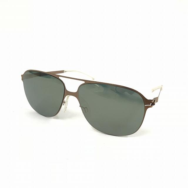マイキータ MYKITA ベルンハルトウィルヘルム bernhard willhelm SCHORSCH サングラス 眼鏡 F68-SHINYCOPPER BRILLIANTGREEN SOLID col.259 メンズ 【中古】【ベクトル 古着】 180817 VECTOR×Refine