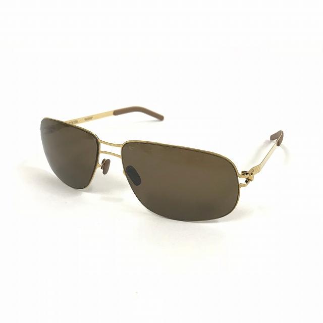 【中古】マイキータ MYKITA 1SUN BORIS サングラス 眼鏡 GOLDLINE SOLID col.008 メンズ 【ベクトル 古着】 180818 VECTOR×Refine