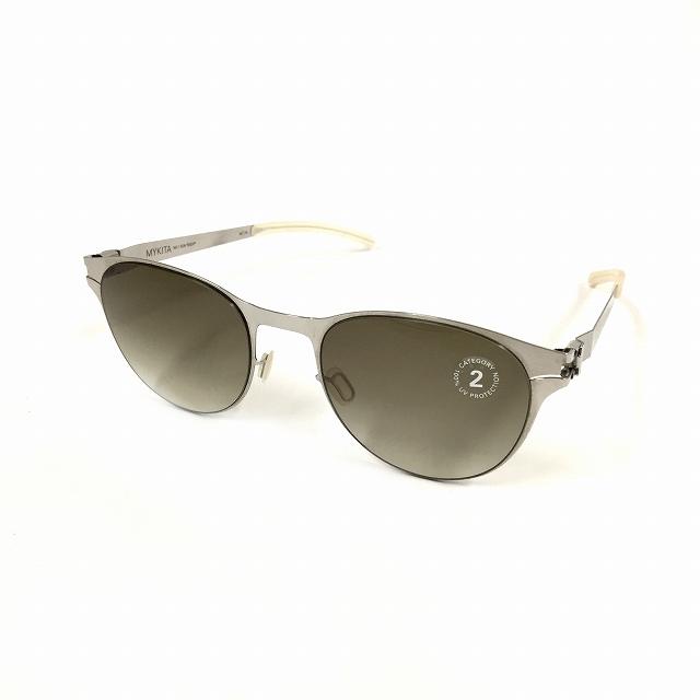 【中古】マイキータ MYKITA 1SUN ZACH サングラス 眼鏡 SHINYSILVER OLIVE GRADIENT col.051 メンズ 【ベクトル 古着】 180818 VECTOR×Refine