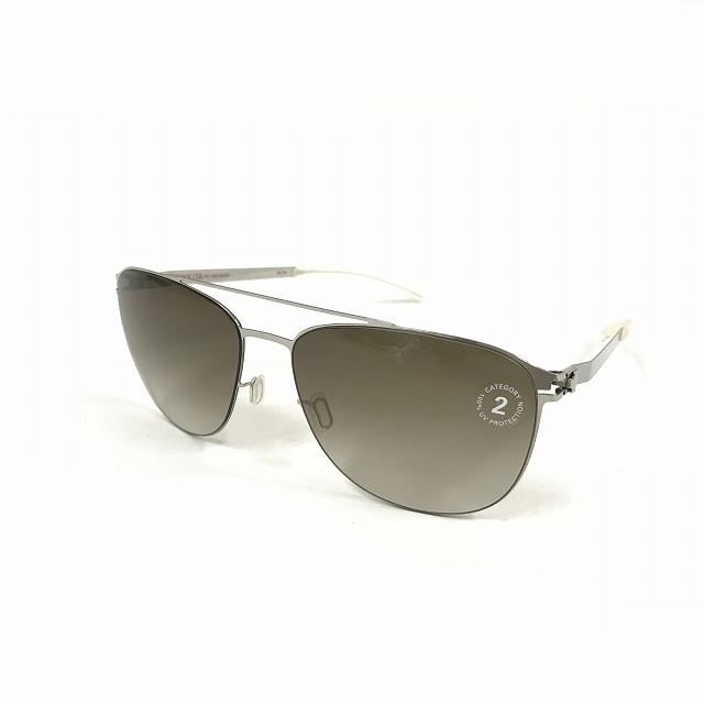 マイキータ MYKITA 1SUN DOUG サングラス 眼鏡 SHINYSILVER NEOPHAN POLARIZED col.051 メンズ 【中古】【ベクトル 古着】 180819 VECTOR×Refine
