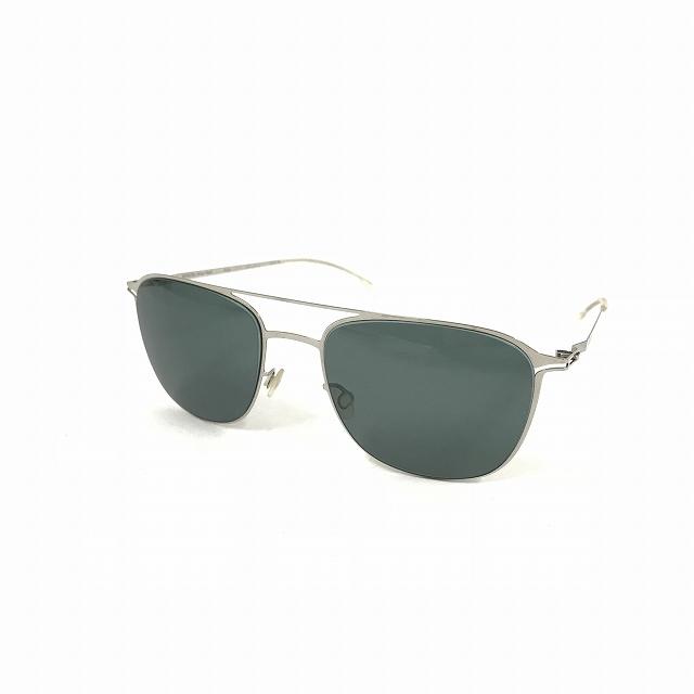 マイキータ MYKITA LITESUN PELLE サングラス 眼鏡 SHINYSILVER NEOPHAN POLARIZED col.051 メンズ 【中古】【ベクトル 古着】 180819 VECTOR×Refine