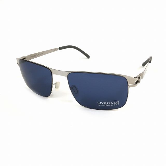 マイキータ MYKITA NO.1 SUN LYLE サングラス 眼鏡 シルバー SHINYSILVER SAPHIREBLUE SOLID col.051 メンズ 【中古】【ベクトル 古着】 180819 VECTOR×Refine