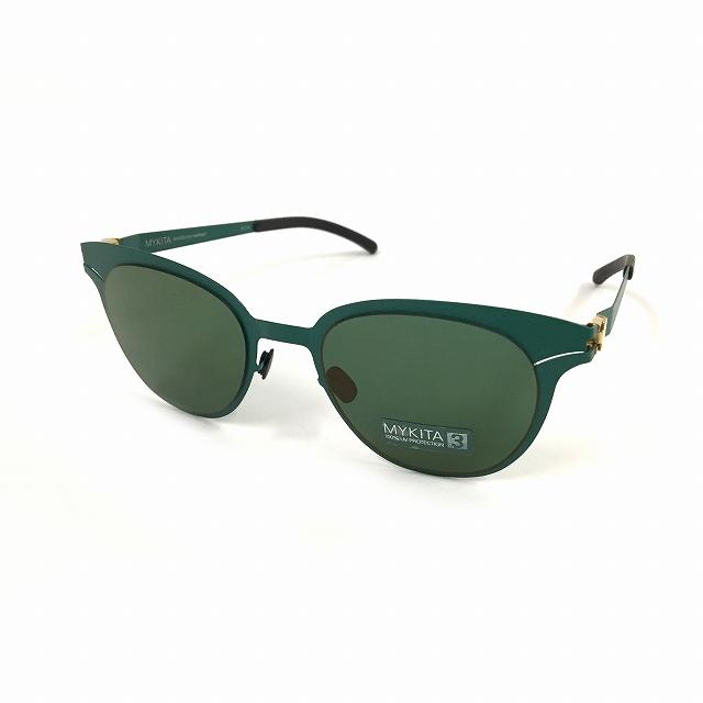 マイキータ MYKITA DECADES SUN MAREIKE サングラス 眼鏡 OPAL BRILLIANTGREEN SOLID col.140 メンズ 【中古】【ベクトル 古着】 180820 VECTOR×Refine