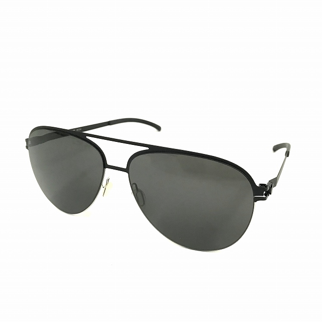 マイキータ MYKITA DECADESSUN GRIMBART サングラス 眼鏡 SILVER/BLACK DARKGREY SOLID col.052 メンズ 【中古】【ベクトル 古着】 180820 VECTOR×Refine