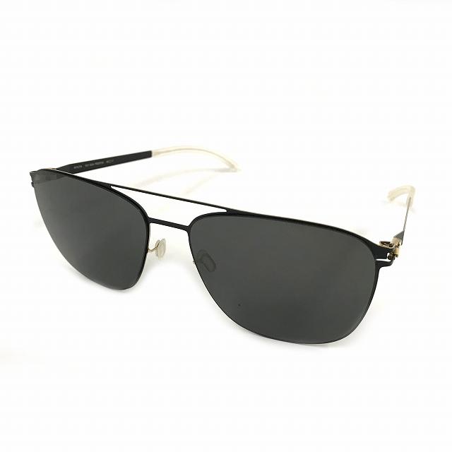 マイキータ MYKITA NO.1 SUN PRESTON サングラス 眼鏡 BLACK/GOLDEDGES DARKGREY SOLID col.279 メンズ 【中古】【ベクトル 古着】 180820 VECTOR×Refine