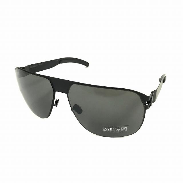 【中古】マイキータ MYKITA NO.1 SUN TIM サングラス 眼鏡 ブラック BLACK SOLID col.002 メンズ 【ベクトル 古着】 180820 VECTOR×Refine