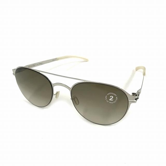 マイキータ MYKITA NO.1 SUN REGINALD サングラス 眼鏡 シルバー SHINYSILVER OLIVE GRADIENT col.051 メンズ 【中古】【ベクトル 古着】 180821 VECTOR×Refine